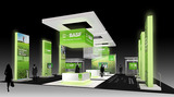 BASF Corporate booth design for Impact Unlimited